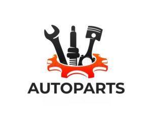 Autoparts Gear Auto Piston Spark Plug Wrench Logo Design Automotive Parts Automobile Detail Repairing Car Vector 170106468